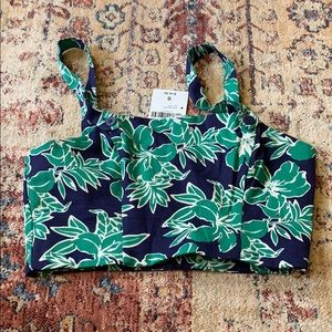 Forever 21 Hawaiian crop top NWT